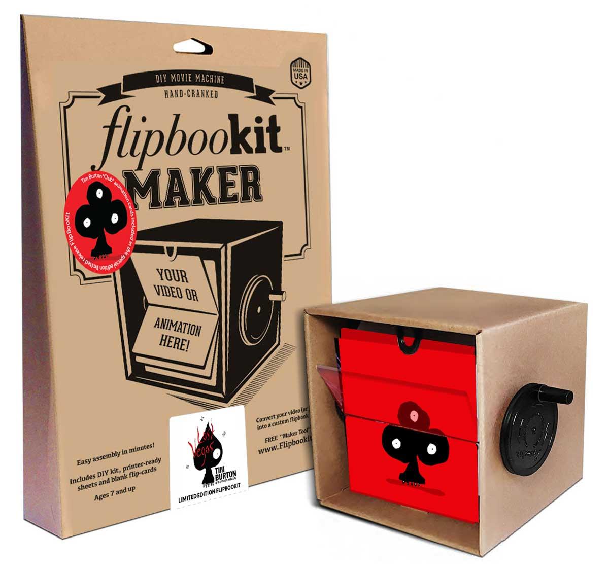 Club FlipBooKit by Tim Burton