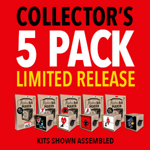 Tim Burton 5 Pack FlipBooKits